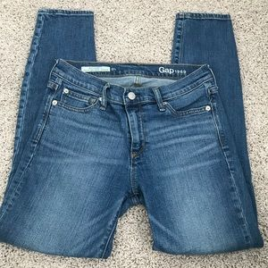 Gap 1969 authentic true skinny ankle jeans 27 r